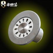 不锈钢圆形直径12cm洗衣机地漏-GY120X
