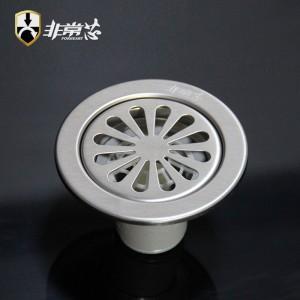 304不锈钢10cm直径圆形地漏-GY100