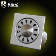 不锈钢0.8mm洗衣机地漏-GF100X