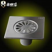 不锈钢方形12X12cm地漏-GF120