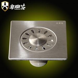 不锈钢12*12cm洗衣机地漏-GF120X