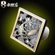 咖啡古铜( 吉庆有余款)- KFTF100-F6