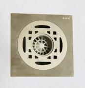 白铜拉丝洗衣机地漏- BTF100X