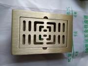 白铜拉丝款防臭地漏精铸系列加长加厚- BTF150