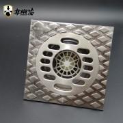 非常芯全铜防臭3D浮雕洗衣机地漏-FTF100X